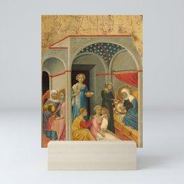 Andrea di Bartolo - The Nativity of the Virgin Mini Art Print