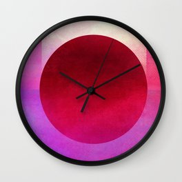 Circle Composition XII Wall Clock