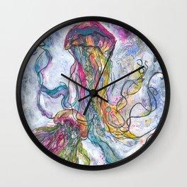 3 Jellyfish Wall Clock