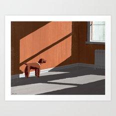 A Dog's Grace Art Print
