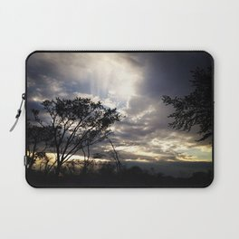 Peaceful and powerful sunset Laptop Sleeve