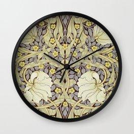 William Morris - Pimpernel Wallpaper Design Wall Clock