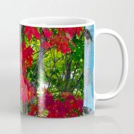 Birch Maple by Teresa Thompson Coffee Mug
