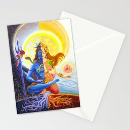 Shiva and Shakti Stationery Cards