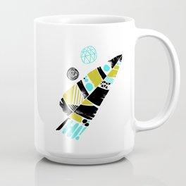 Feather Greeting Coffee Mug