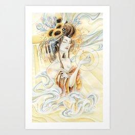 Sun Oiran Art Print