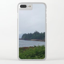 Ketchikan Landscape Clear iPhone Case
