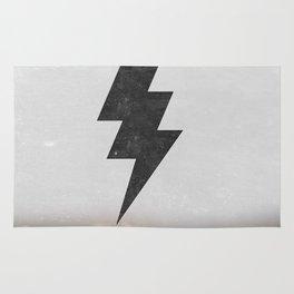 lightning strike Rug
