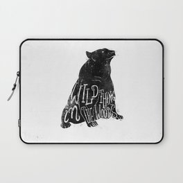 Wild Thing in the Woods Laptop Sleeve
