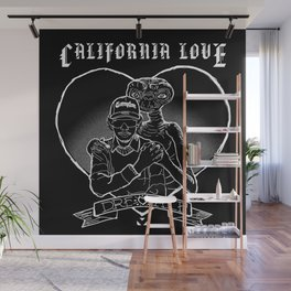 California Love Wall Mural