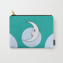 La Luna Mexican Loteria Card Carry-All Pouch
