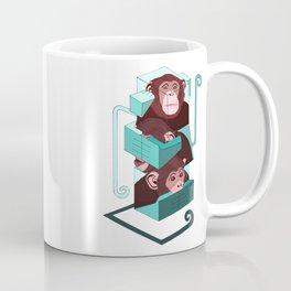 three monkeys totem Coffee Mug