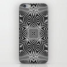 Black & White Tribal Symmetry iPhone Skin