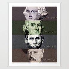 130 Years of History Art Print