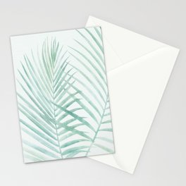 Cool Minty Tropics Stationery Cards