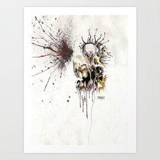 HEAD SHOT Art Print