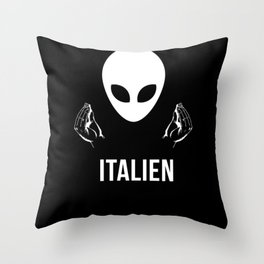 IT ALIEN - The Mediterranean Alien Throw Pillow