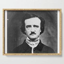 Edgar Allan Poe Serving Tray