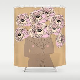 Flor Garduno Shower Curtain