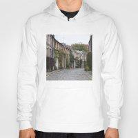 edinburgh Hoodies featuring Edinburgh street by RMK Creative