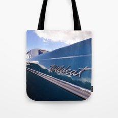 Wildcat - Classic American Blue Car Tote Bag