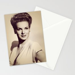 Maureen O'Hara, Hollywood legend Stationery Cards