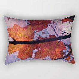 Autumn Sadness Rectangular Pillow