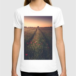 Poppies leading the way T-shirt