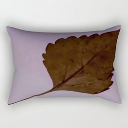 BE LIKE A LEAF #3 Rectangular Pillow