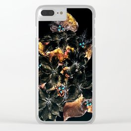 Christmas Tree - Mystery Time Clear iPhone Case