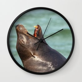 Yawning Wall Clock