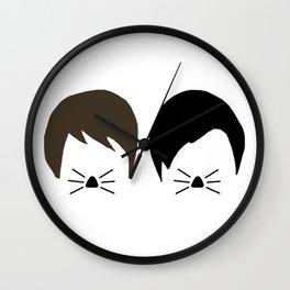 Dan and Phil Wall Clock