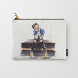 Smiling Harry Styles Carry-All Pouch