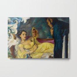 Classical Masterpiece 'Lord Hornblower' by Benjamon Stahl Metal Print