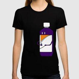 Codeine Bottle Walking the Dog T-shirt