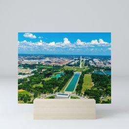 DC from Above Mini Art Print