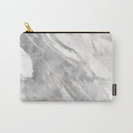 Castello silver marble Carry-All Pouch