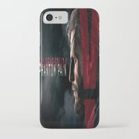 metal gear solid iPhone & iPod Cases featuring metal gear solid V  , metal gear solid V  games, metal gear solid V  blanket by Eirarose