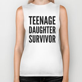 Teenage Daughter Survivor Biker Tank