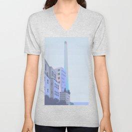 Seaside tower Unisex V-Neck