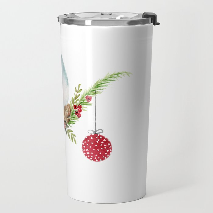 Christmas Bird - Winterland Travel Mug