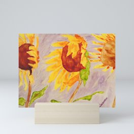 Sunflowers   Tournesols Mini Art Print