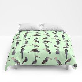 Tropical Birds 2 Comforters