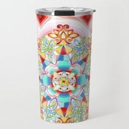 Cosmic Waves Kimono Travel Mug