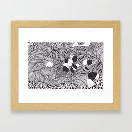 underwater spirit Framed Art Print