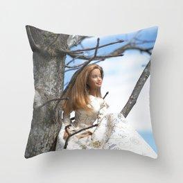 Spring Muse Throw Pillow