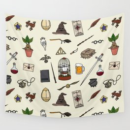 Harry Pattern Wall Tapestry