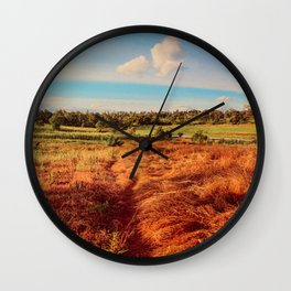 My Heart in The Country Wall Clock