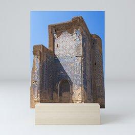 Ruins of Ak-Saray Palace - Shakhrisabz, Uzbekistan Mini Art Print