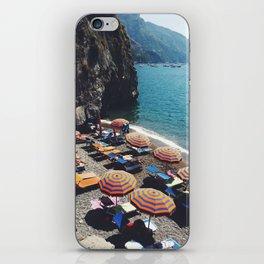 Positano beach  iPhone Skin